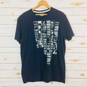 DKNY Jeans Blue Graphic Crew Neck T-Shirt